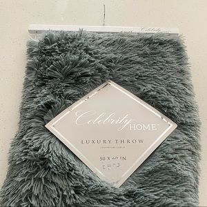 Other - Chanasya Shaggy Longfur Faux Fur Throw Blanket